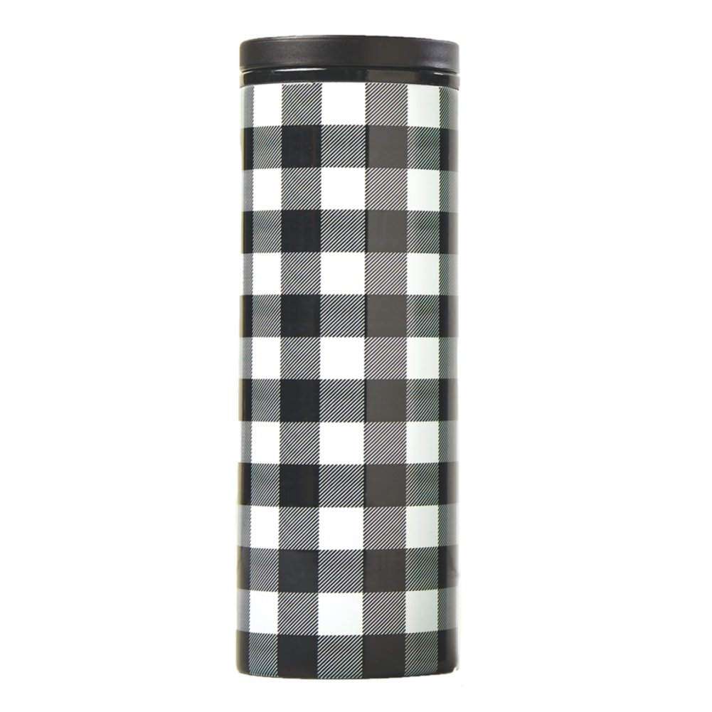 Custom Collection: Warm Wishes Plaid Tumbler