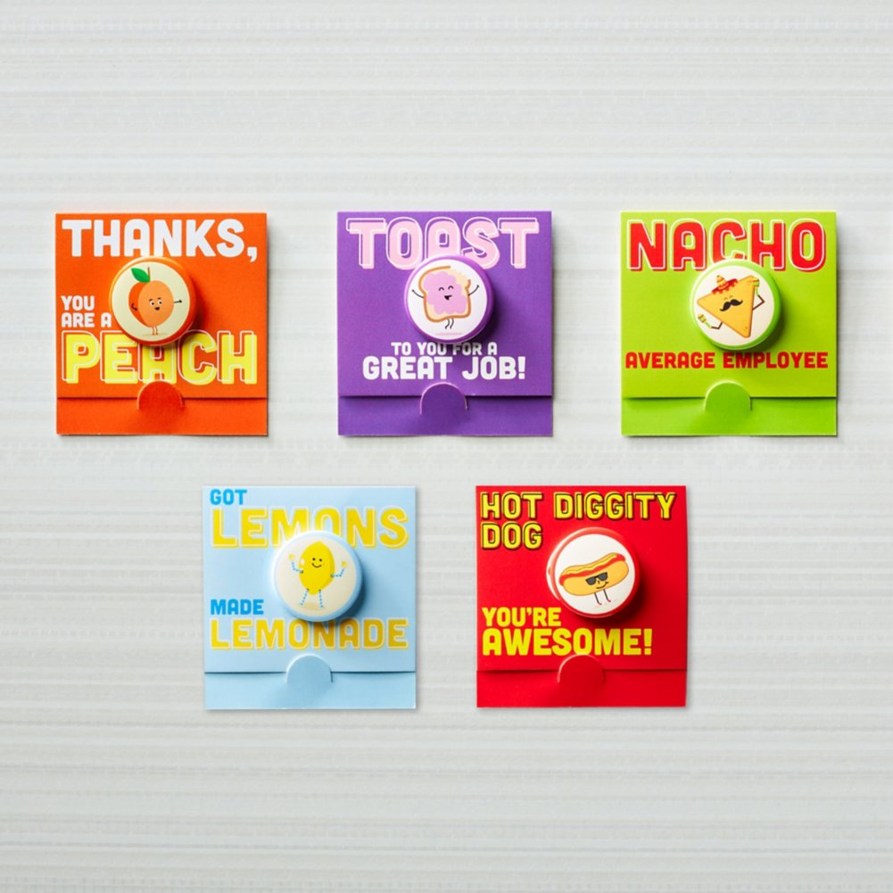 View larger image of Bravo Button Pack - Fun with Food