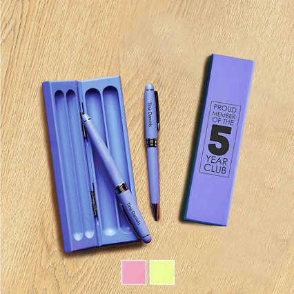 Vibrant Wooden Pen Sets