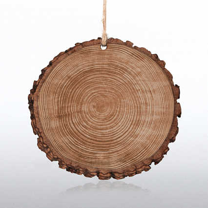 Surpr!se Custom: Wood Slice Holiday Ornament