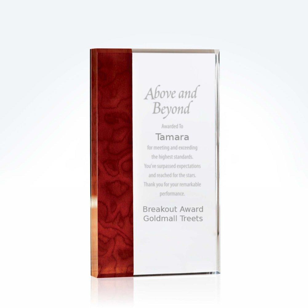 View larger image of Executive Carpathian Wood Acrylic Trophy - Rectangle