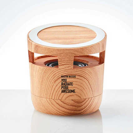 Custom Collection: Modern Wood Wireless Bluetooth Speaker Charging Pad