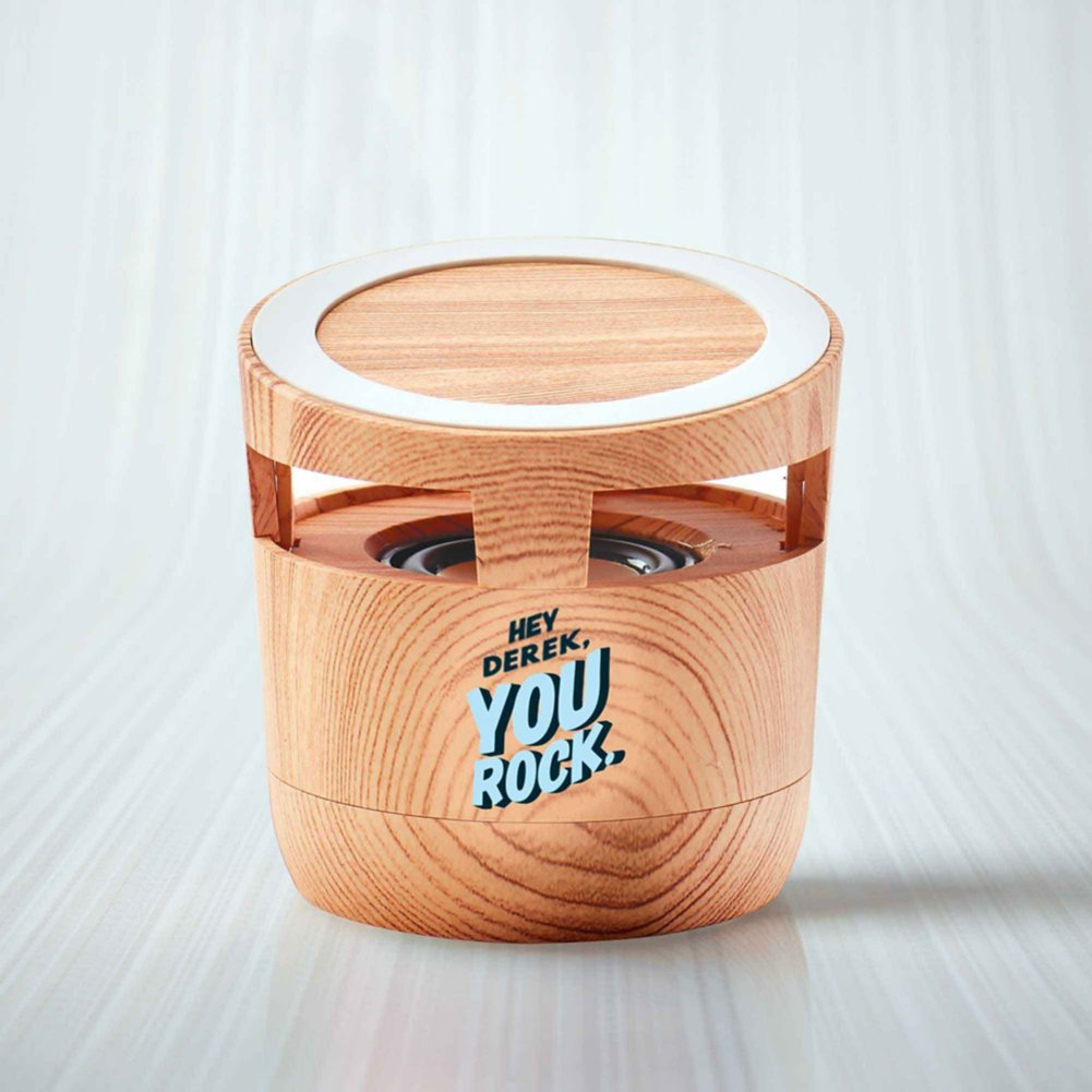 View larger image of Surpr!se Custom: Modern Wood Bluetooth Speaker Charging Pad
