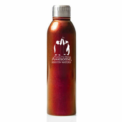Surpr!se Custom: Shimmering Stainless Steel Water Bottle