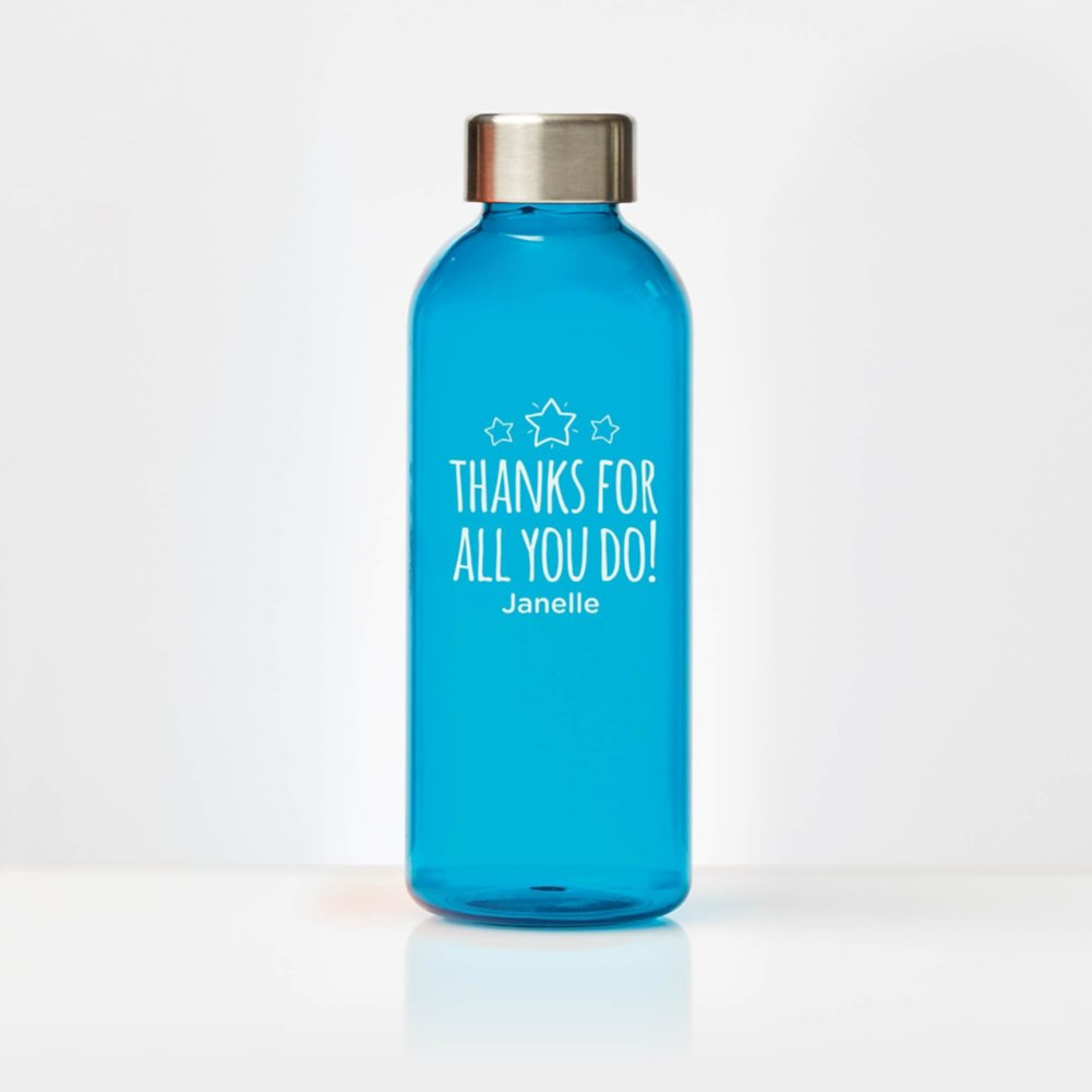View larger image of Surpr!se Custom: Glossy Water Bottle with Stainless Steel Lid