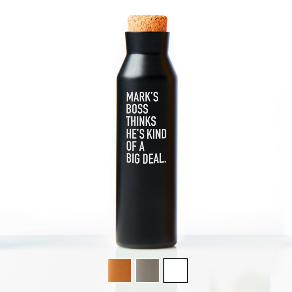 View larger image of Surpr!se Custom: Suave Stainless Steel Water Bottle