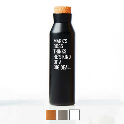Surpr!se Custom: Suave Stainless Steel Water Bottle
