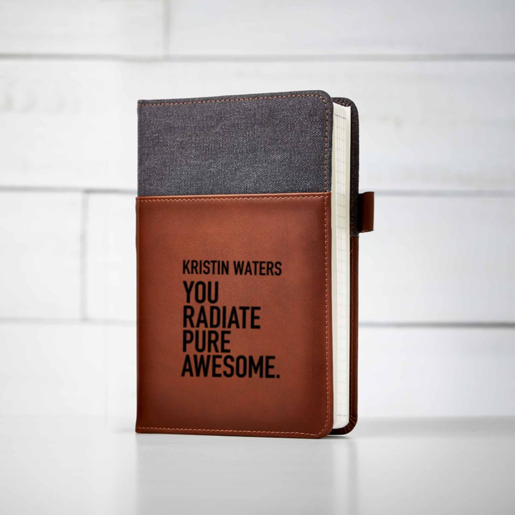 View larger image of Custom Collection: Leather Journal