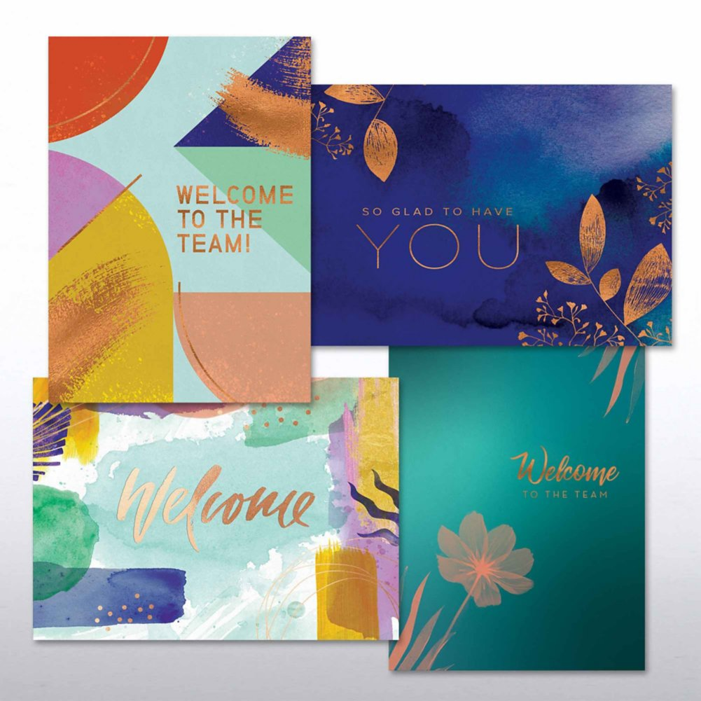 Artful Welcome Card Set