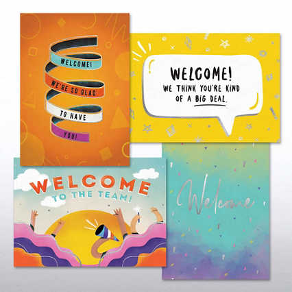 Fun Welcome Card Set