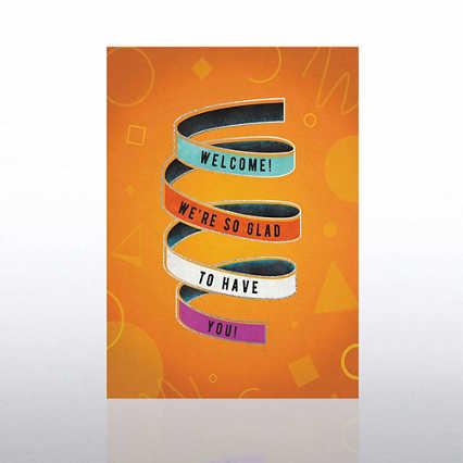 Fun Welcome Card - Banner