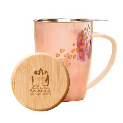 Pinky Up Ceramic Tea Gift Sets - Pink