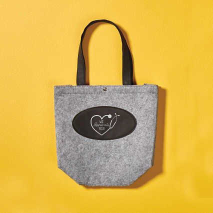 Stylish Felt Tote Bag