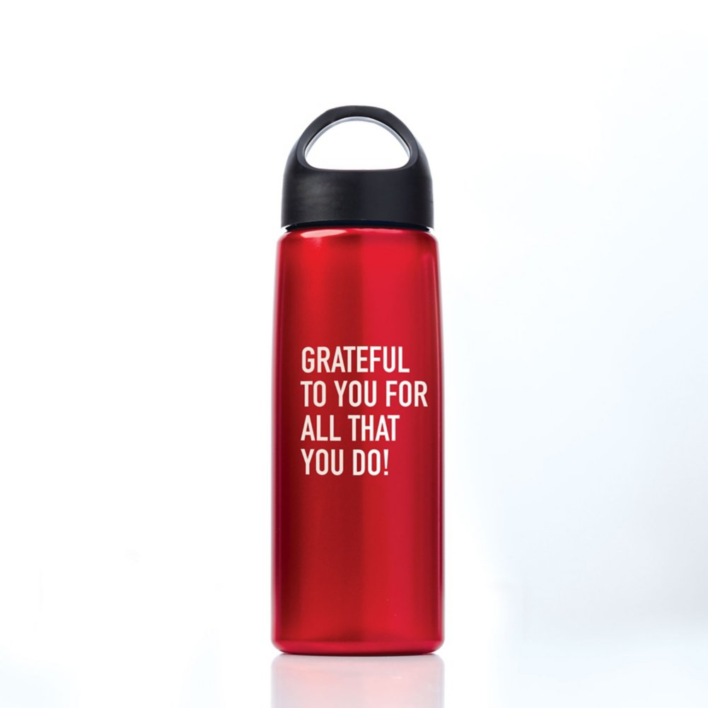 View larger image of Luminous Value Water Bottle - Grateful to You