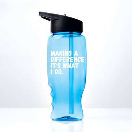 Vibrant Value Water Bottle - Making A Difference
