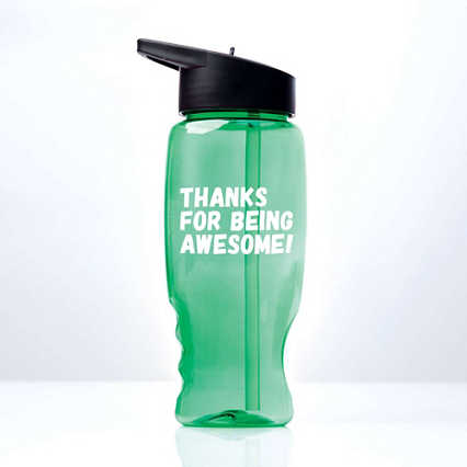 Vibrant Value Water Bottle - Awesome