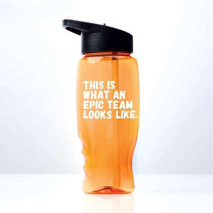 Vibrant Value Water Bottle - Epic Team