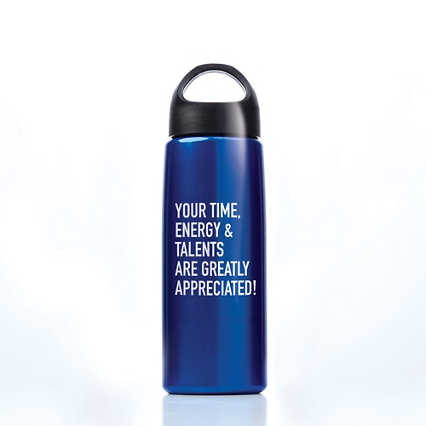 Luminous Value Water Bottle - Greatly Appreciated