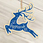 View larger image of Classic Wooden Ornament - Deer