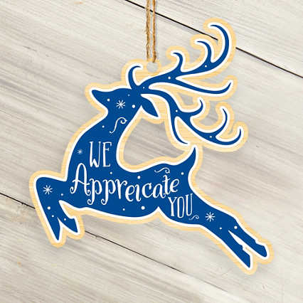 Classic Wooden Ornament - Deer