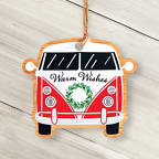 View larger image of Classic Wooden Ornament - Bus