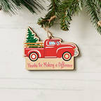 View larger image of Classic Wooden Ornament - Truck