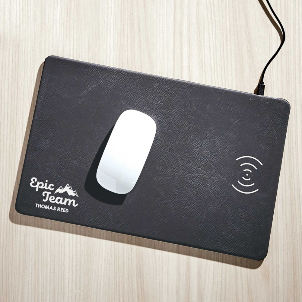View larger image of Surpr!se Custom: Seamless QI Charging Mousepad