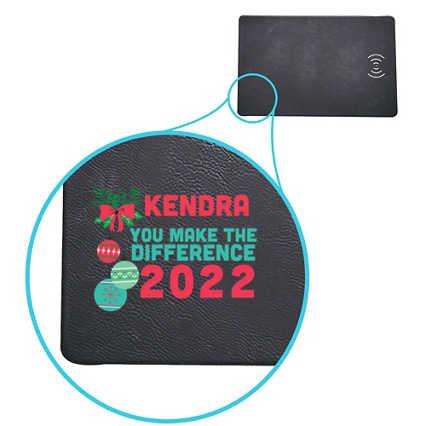 Seamless QI Charging Mousepad
