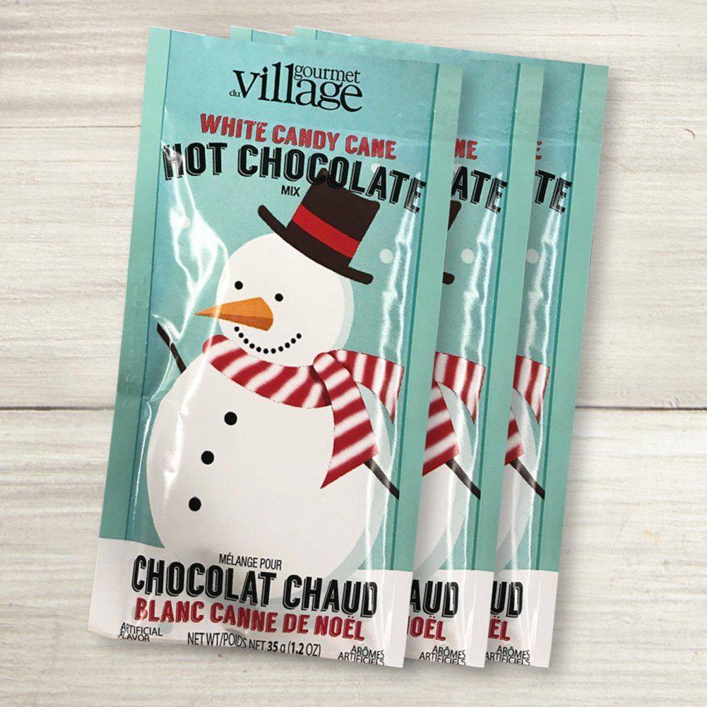 View larger image of Candy Cane Hot Chocolate - Snowman
