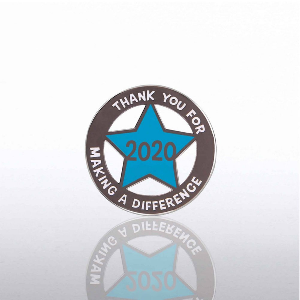 View larger image of Lapel Pin - 2020 Cut Out Star