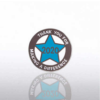 Lapel Pin - 2020 Cut Out Star