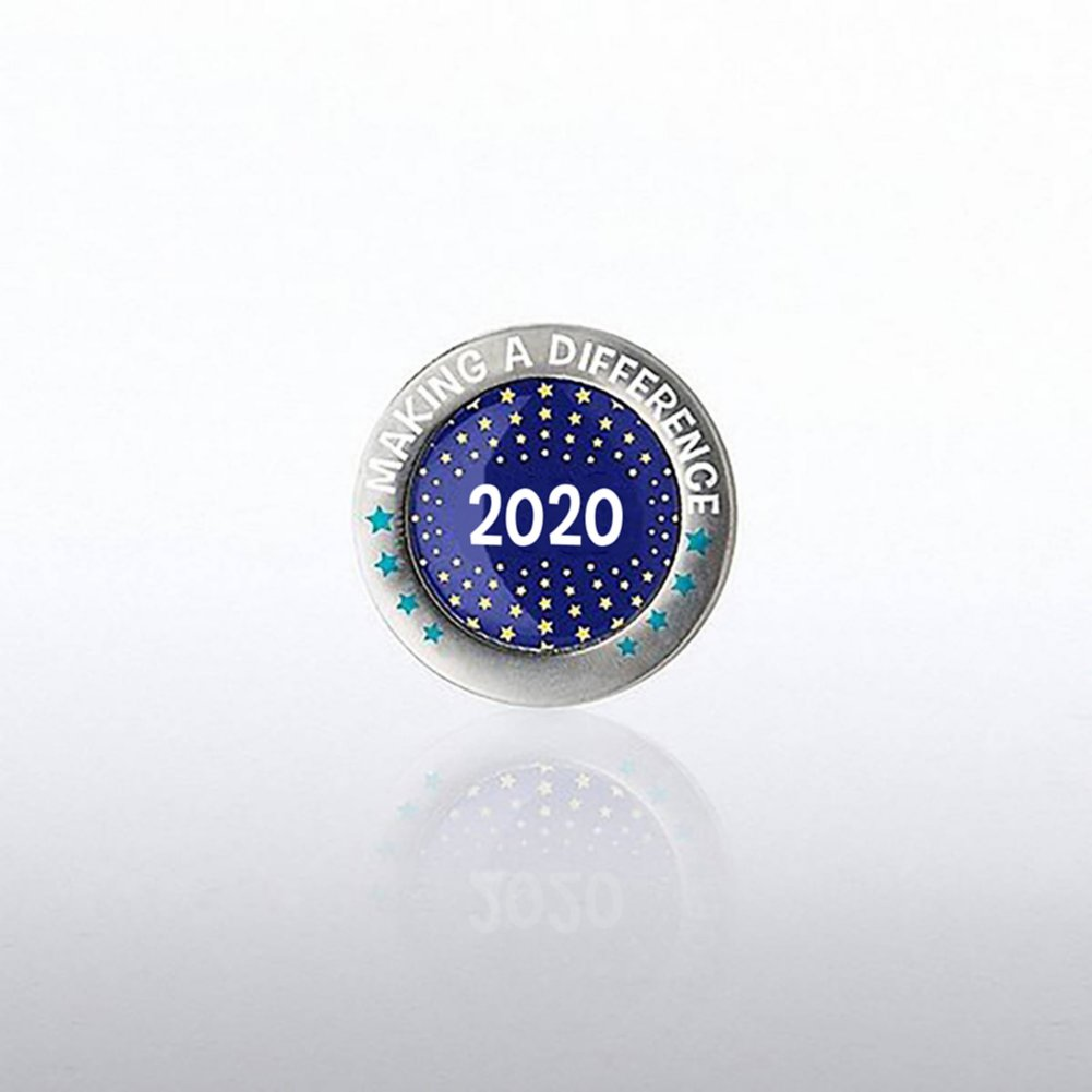 View larger image of Lapel Pin - 2020 Making a Difference