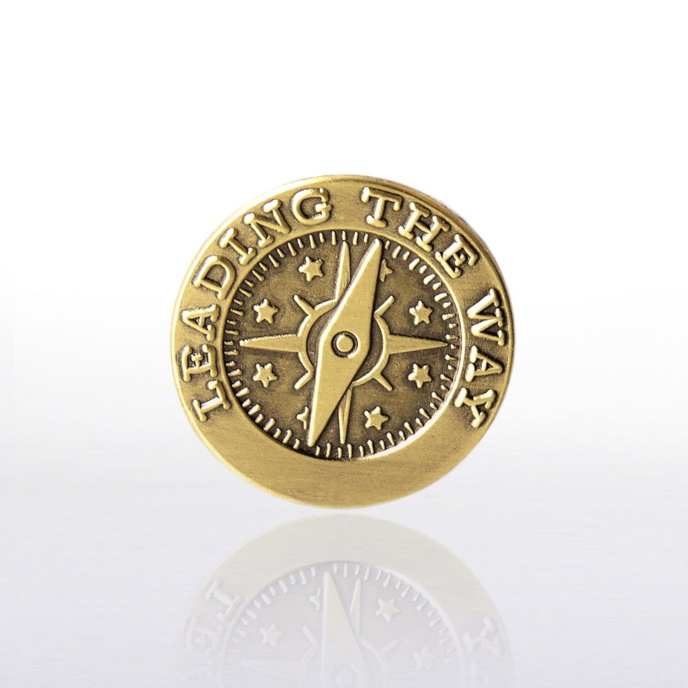 View larger image of Lapel Pin - Compass - Leading the Way