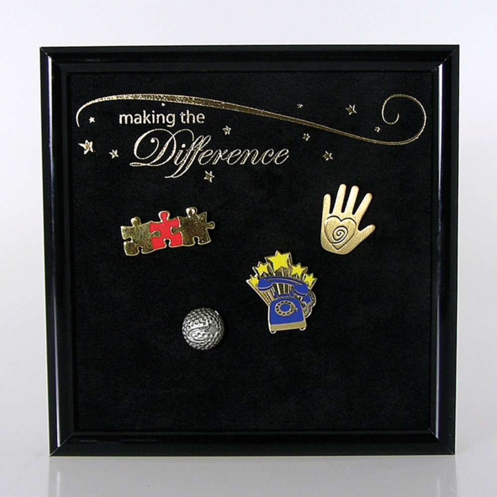 View larger image of Award Pin Display - Making the Difference