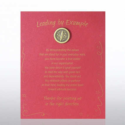 Character Pin - Compass: Leading by Example