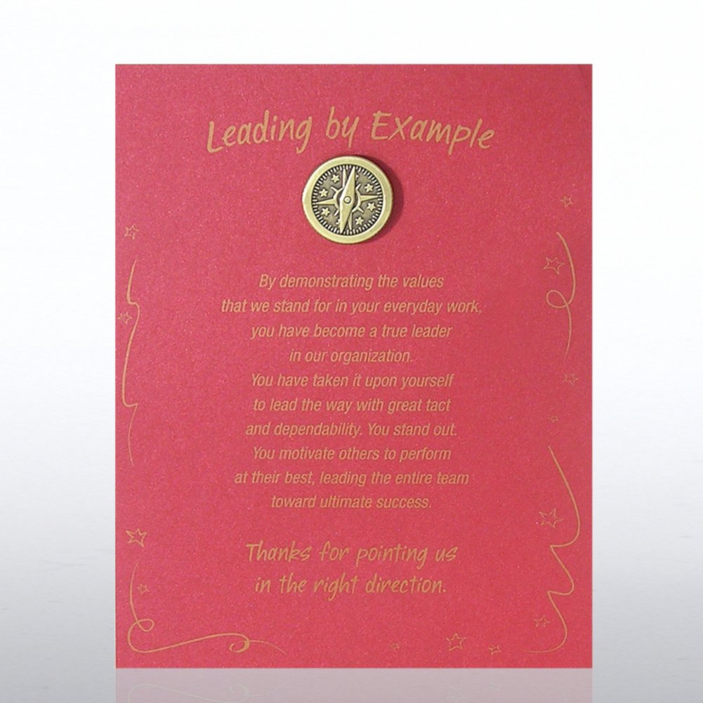 View larger image of Character Pin - Compass: Leading by Example