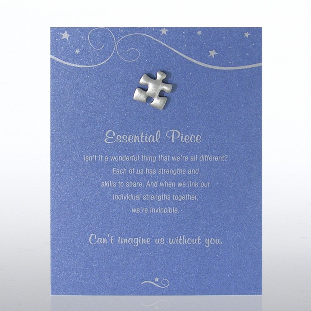 View larger image of Character Pin - Essential Piece - Blue Card
