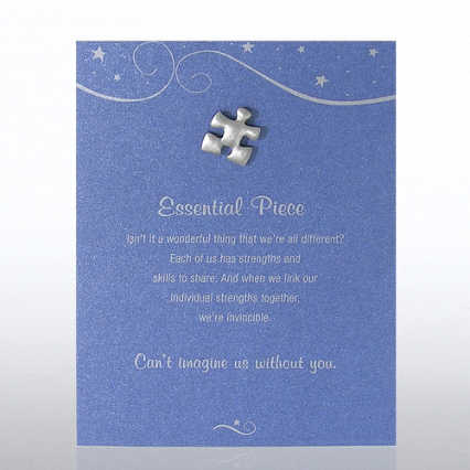 Character Pin - Essential Piece - Blue Card