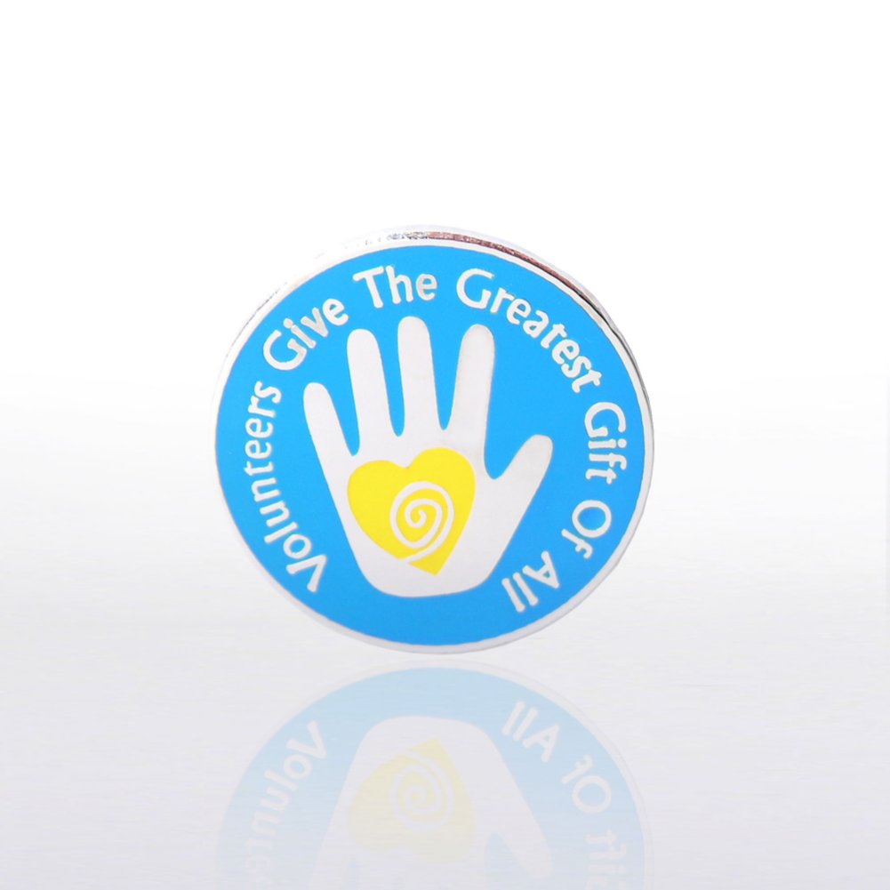 View larger image of Lapel Pin - Helping Hand Volunteer
