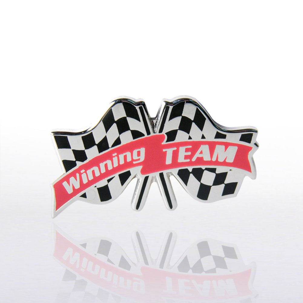 View larger image of Lapel Pin - Winning Team Checkered Flags