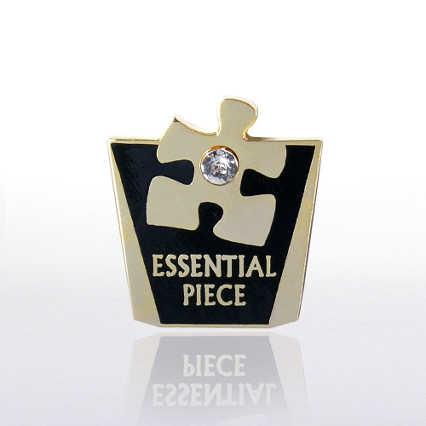 Lapel Pin - Essential Piece w/ Gem
