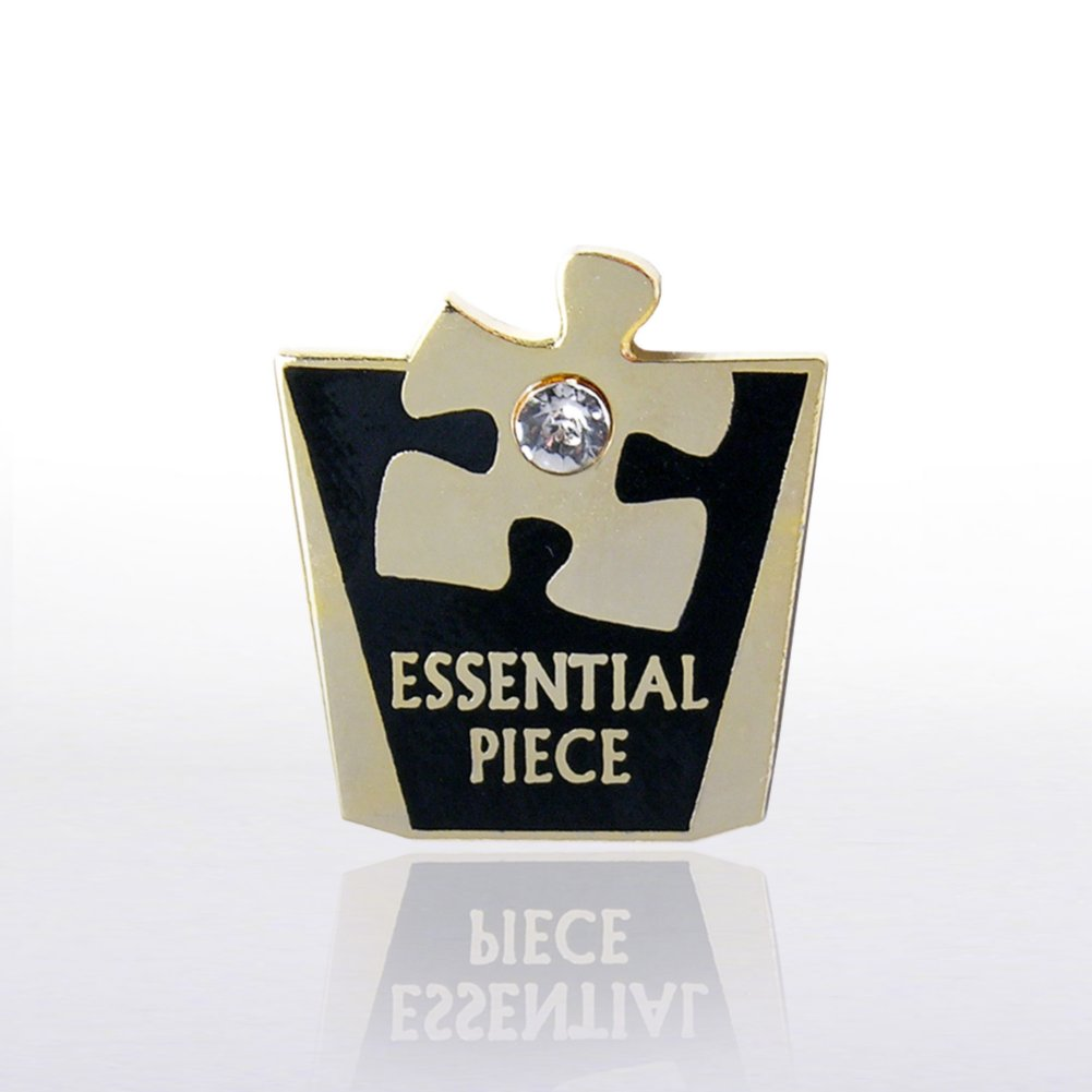 View larger image of Lapel Pin - Essential Piece w/ Gem