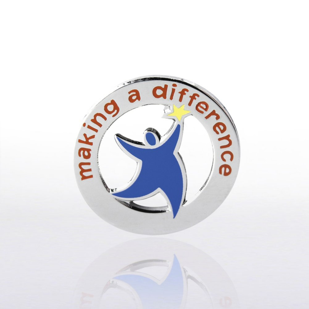 Lapel Pin - Team Guy: Making a Difference