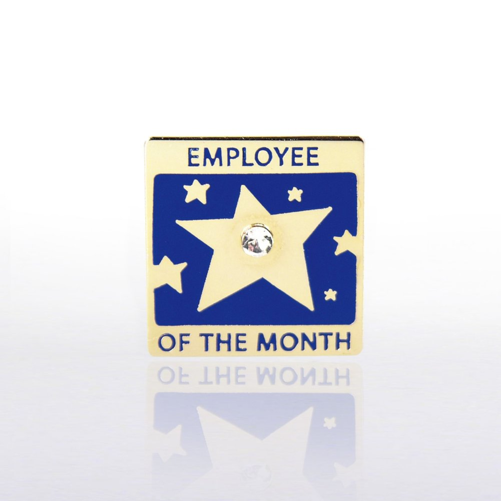 View larger image of Lapel Pin - Employee of the Month w/ Gem