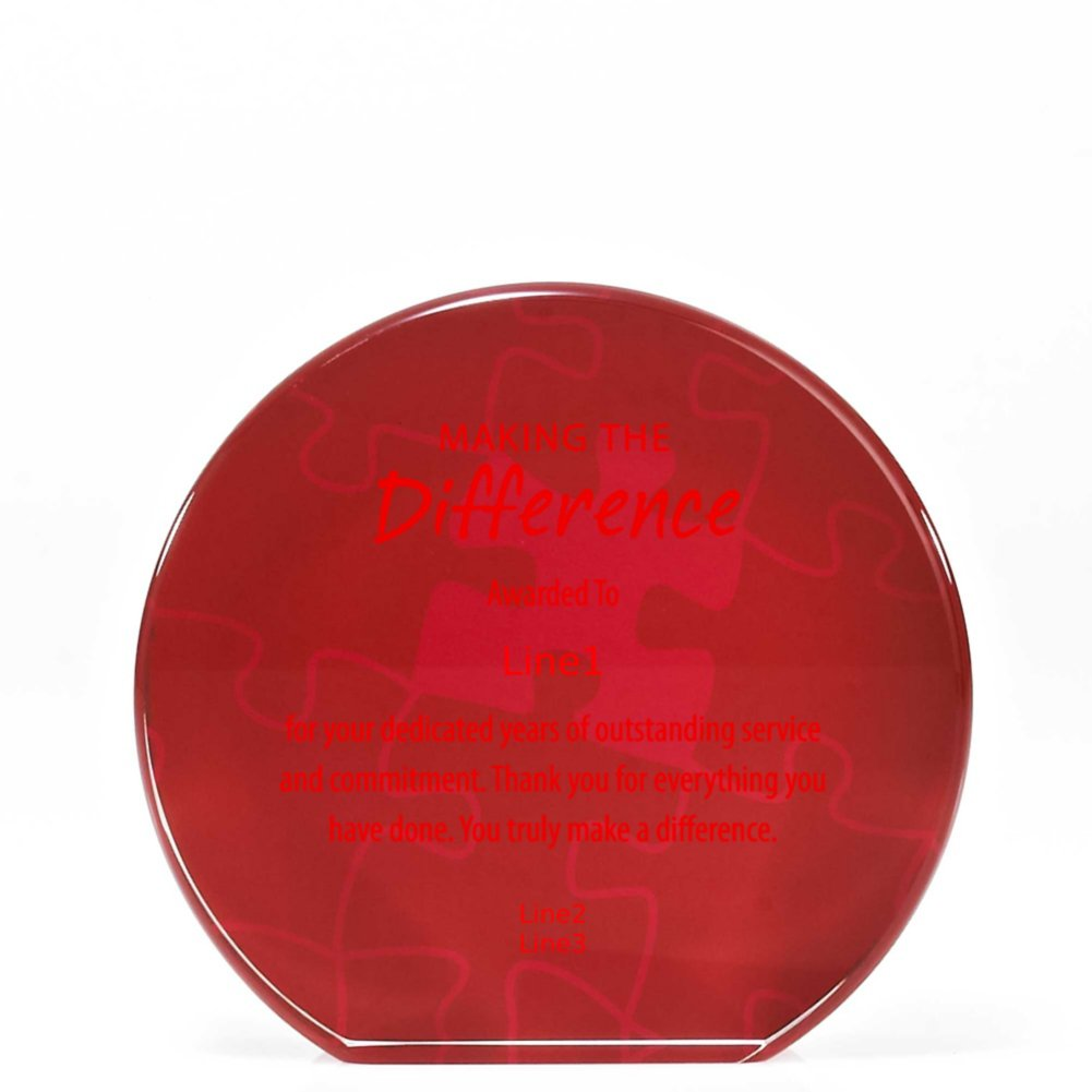 View larger image of Tribute Trophy - Round