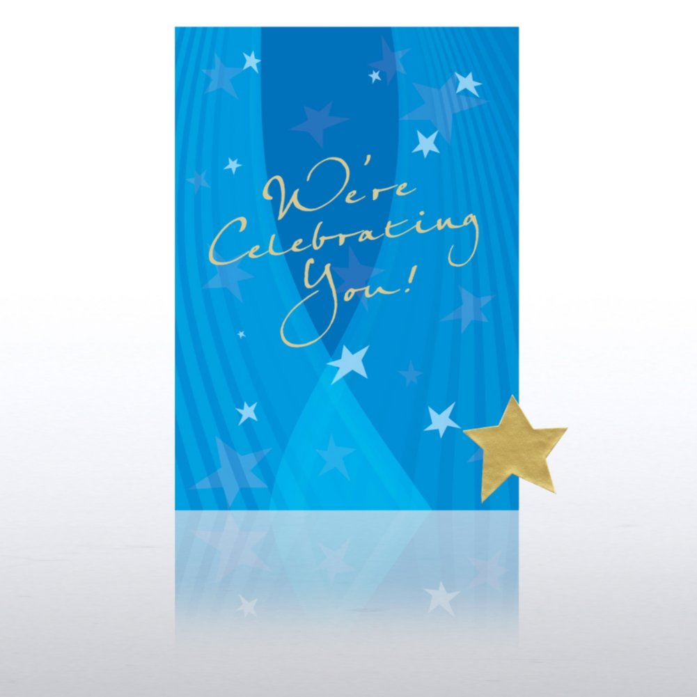 View larger image of Greeting Card Single Pack - We're Celebrating You