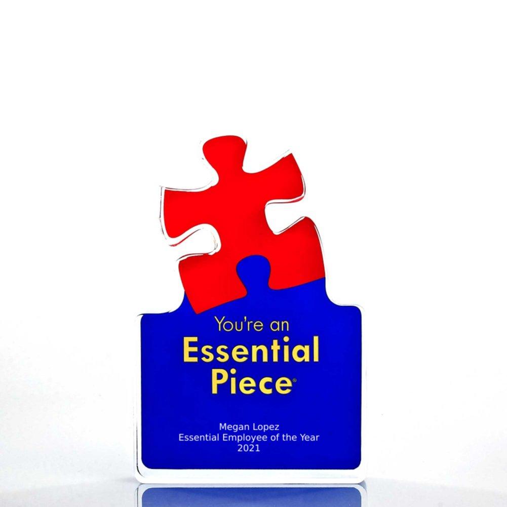 View larger image of Desktop Acrylic Trophy - Essential Piece