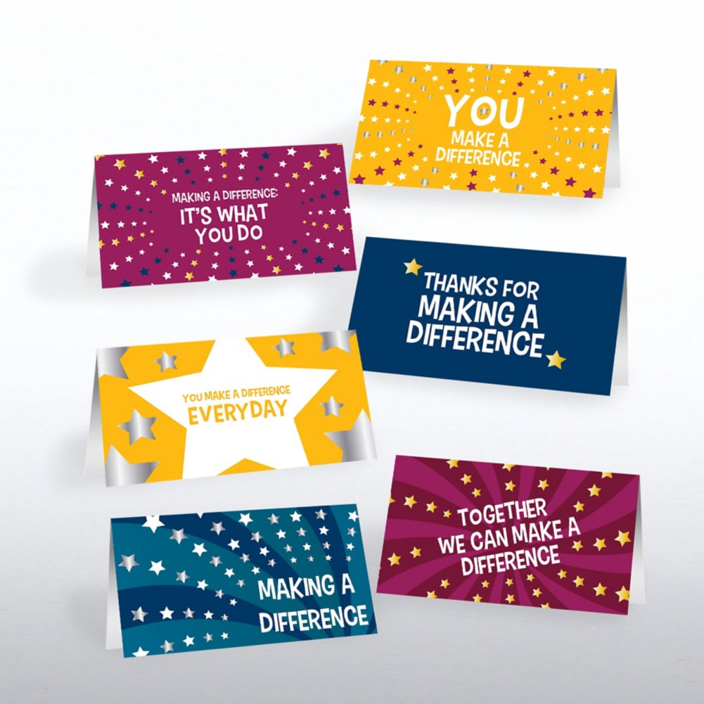 View larger image of Foil Pocket Praise® - Making a Difference