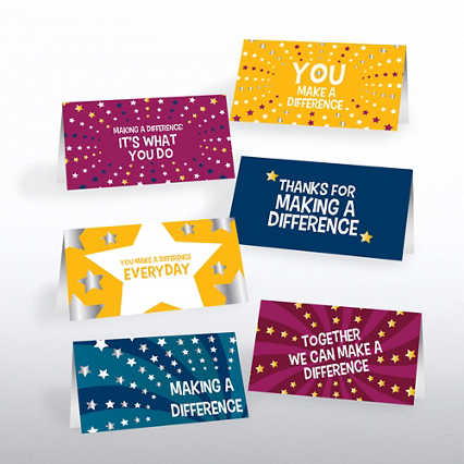 Foil Pocket Praise - Making a Difference