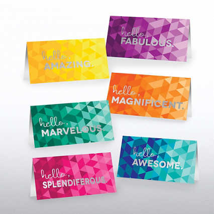 Foil-Stamped Pocket Praise® - Hello, Awesome